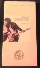 Bruce Springsteen Born To Run 24k Gold CBS Mastersound CD Recalled Issue Longbox