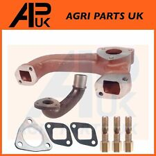Perkins A3.152 AD3.152 Engine Exhaust Manifold + Elbow + Gaskets + 3x Stud & Nut