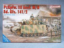 DRAGON model kit 9015 -Open Box- Pz.Kpfw.III Ausf.M/N Sd.Kfz.141/2 - 1:35 scale
