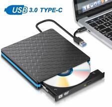 External Dvd Drive, M Way Usb 3.0 Type C Cd Drive, Dual Port Dvd-Rw Player, Port