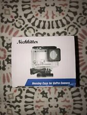 NWT Nechkitter Housing Case for GoPro Camera Waterproof Hero4, 3+ or 3