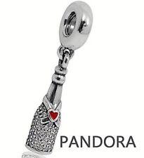 Authentic Pandora Celebration Time Dangle Charm W/ Pandora TAG & BOX #792152CZ