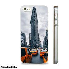 NEW YORK YELLOW CABS TRAVEL CASE FITS  IPHONE 4 4S 5 5S 5C 6 6S 7 8 SE PLUS X