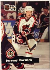 '91 Jeremy Roenick Chicago Blackhawks NHL ProSet #280 All-Star Game Hockey Card
