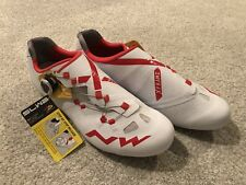 NEW NORTHWAVE EXTREME RR Men's Road Bike Cycling Shoes White Red Carbon 13 EU46