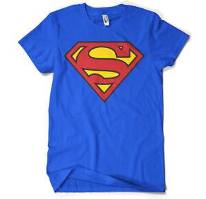 SALE ! Official Licensed Superman - Logo Men's, Unisex T-Shirt S-XXL (Blue)