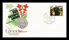 DR JIM STAMPS 8C MONTREAL OLYMPIC GAMES FIRST DAY ISSUE CANADA UNSEALED COVER