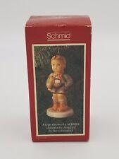 """1983 M.J. Hummel Schmid """"Hark the Herald"""" First Annual Ornament - Nib"""