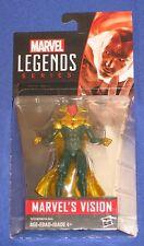 "Marvel Universe Legends Vision Action Figure 2015 Hasbro 4"" MOC Avengers 1/18th"
