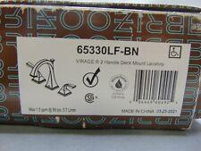 Brizo Virage 65330LF-BN Widespread Two Handle Bathroom Faucet in Brushed Nickel
