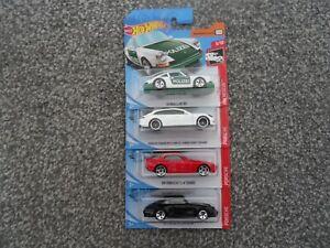 Hot wheels x4 Porsche bundle - 911 Carrera/944 Turbo/Panamera