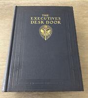 RARE ANTIQUE 1937 THE EXECUTIVES DESK BOOK BY THE JOHN C WINSTON COMPANY