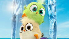 Hatchlings in the angry birds movie Wallpaper Poster 24 x 14 inches