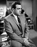 "RAYMOND BURR IN THE TV PROGRAM ""PERRY MASON"" - 8X10 PUBLICITY PHOTO (FB-215)"