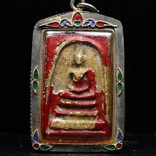 Rare Phra Somdej Toh Bangkhunprom Buddha year 2411-2412 , thai buddha amulet 2