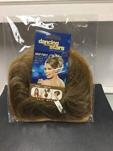 POP WRAP PARTY Hair Scrunchie Elastic Hairpiece, R14/16T Dark Blonde