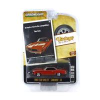 Greenlight 39020-A Chevrolet Camaro rot - Vintage AD Cars Maßstab 1:64 NEU!°