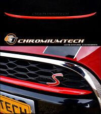 MK3 F55 F56 F57 MINI Cooper S/SD Front Grill Bumper Trim RED Hatch/ Convertible