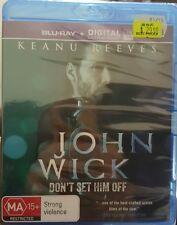 *Brand New & Sealed* John Wick (Blu-ray, 2015) Keanu Reeves Action Movie