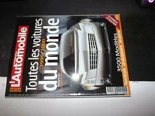 ** Revue L'automobile magazine HS n°22  1999 2000 toutes les voitures du monde