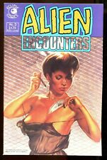 ALIEN ENCOUNTERS 3 (9.6) SEXY COVER ECLIPSE COMICS (b008)