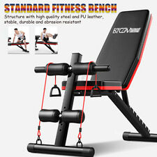 Dumbbell Bench Sit Up Stool Fitness Workout Gym Exercise Training Equipme