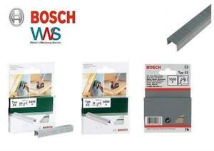Bosch Tacker Klammern Typ 53 11,4mm / Länge, Menge und Material frei wählbar