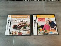 NINTENDO DS LOT 2 VIDEO GAMES PERSONAL TRAINER KITCHEN COOKING TESTED COMPLETE
