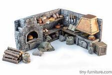 The village bakery - D&D, Mordheim, dungeon terrain, dwarven forge, pathfinder