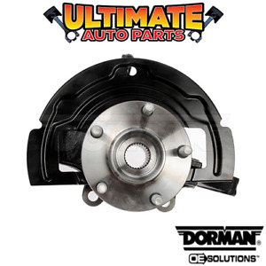 Right Front - Steering Knuckle and Hub (3.5L V6) for 02-06 Nissan Altima