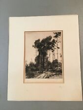 Chauncey Foster Ryder (1869-1949) ORIGINAL ETCHING, Pencil Signed & Titled