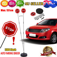 Garage Parking Place Stop Sign LED Flashing Light Car Parking Guide