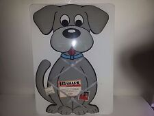 """THE IN-SHAPE MEMO MESSAGE/PHOTO BOARD-PUPPY-17""""X10""""-NEW IN PKG."""