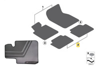 Genuine BMW 1 Series F20 LCI M Performance Car Floor Mats Rear Set 2409929 FEO