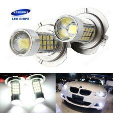 2x H7 499 Bulbs SAMSUNG LED 45W Projector HeadLight Main Daytime Fog Light White