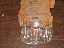 NOS Mopar 1951-54 Desoto back up lamp lens