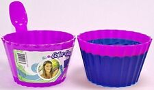 12 Ice Cream Dish Spoon Set Color Plastic Bowls Kids Party Magic Color Change