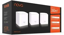 Tenda Whole Home Mesh WiFi System - Dual Band Gigabit AC1200 3500 sq.ft Coverage
