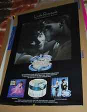 """Linda Ronstadt """"Round Midnight"""" 1986 promotional poster"""