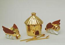 Service miel ? ou condiments ?  Limoges céramique Française R. Montigny et C°