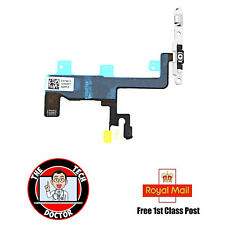 "iPhone 6 4.7"" On Off Power Button Flex with LED Flash Light Metal Bracket"
