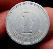 Japoneses 1 yenes año desconocido para mí Lote B