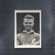 COLINVILLE-FOOTBALL INTERNATIONALS 1958-#01- LIVERPOOL - A'COURT