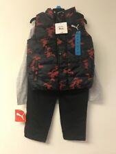 Puma Boy 3 Piece Set With Vest