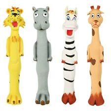 NEW Four Latex Longie Animal Dog Toys 30 - 32 cm 3506