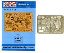 Marabu Models 1/72 GLOSTER GLADIATOR Mk.I Photo Etch Detail Set
