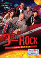 3rd Rock from the Sun The Complete Season 2 Brand New DVD, 2011 3-Disc Set