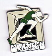 M18# Pin's Monuments Paris Arche la defense Athletisme ES Nanterre