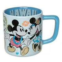 Original Disney Store Mickey and Minnie Mouse Mug – Hawaii Ceramic Coffee Cup