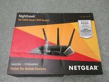 Netgear Nighthawk AC1900 Smart WiFi Router R6900 Gaming Faster Streaming